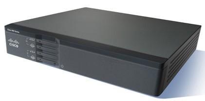 Cisco Systems Cisco866VAE-K9 Cisco 860VAE Eingebauter Ethernet-Anschluss ADSL2+ Schwarz Kabelrouter | CISCO866VAE-K9