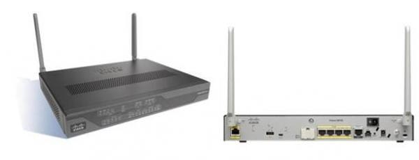 Cisco Systems C881G-4G-GA-K9 Cisco 881 4G integrierter Ethernet-Anschluss Kabelrouter C881G-4G-GA-K9 | C881G-4G-GA-K9