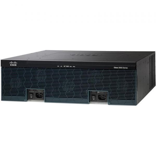 Cisco Systems CISCO3945E-SEC/K9 Cisco 3945E Security Bundle - Router - 1 Gbps | CISCO3945E-SEC/K9