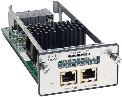 Cisco Systems C3KX-NM-10GT Cisco C3KX-NM-10GT 10 Gigabit Ethernet Netzwerk Switch Modul C3KX-NM-10GT | C3KX-NM-10GT