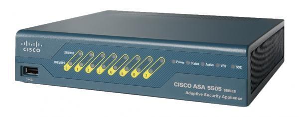 Cisco Systems ASA5505-SSL25-K9 Cisco ASA 5505 1U 150Mbit/s Firewall (Hardware)   ASA5505-SSL25-K9